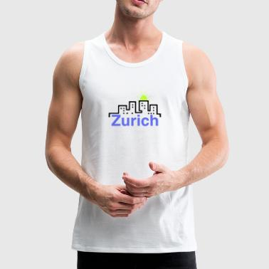 City - Men's Premium Tank Top