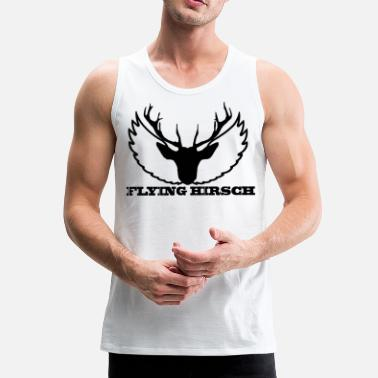Hog THE FLYING HOG - Men's Premium Tank Top