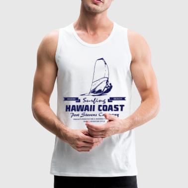 Hawaii Windsurfing - Surfer - Männer Premium Tank Top
