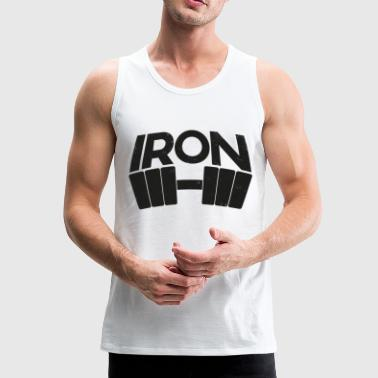 Iron - Men's Premium Tank Top
