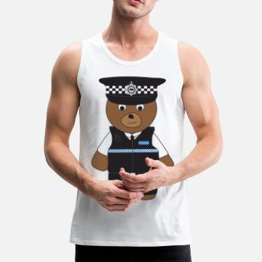 Pc PC Bear - Men's Premium Tank Top