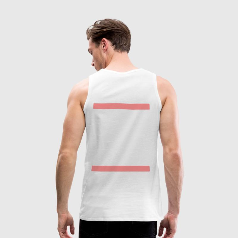 eat sleep rave repeat - Männer Premium Tank Top