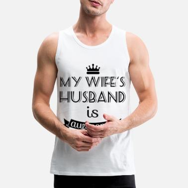 Husband husband - Men's Premium Tank Top
