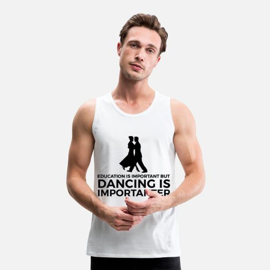 Dancers Tank Tops - Gift for dancers Dancer dancing dancer - Men's Premium Tank Top white