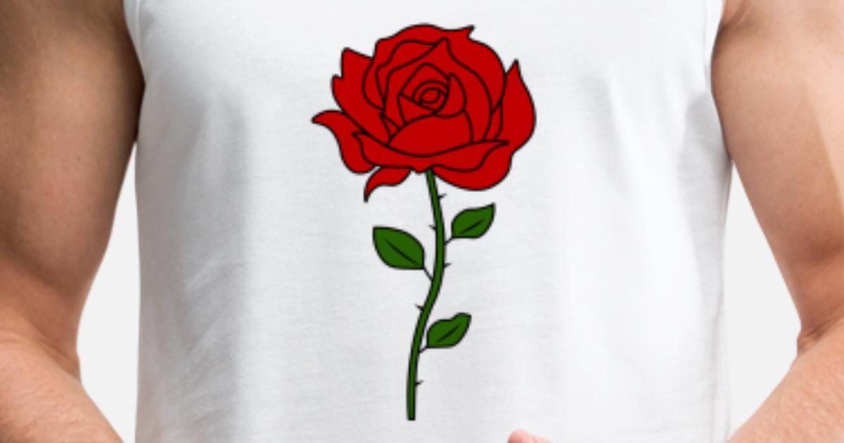 71ffba7761bb8 Rose Flowers Tumblr Men s Premium Tank Top