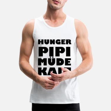 Pipi Hunger Pipi Tired cold - Men's Premium Tank Top