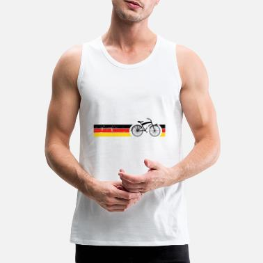 National Cykel nationale farver National Germany Gift - Premium tanktop mænd