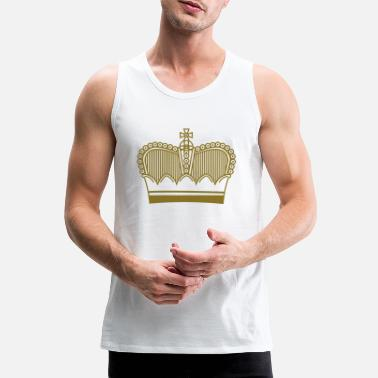 crown symbol - Men's Premium Tank Top
