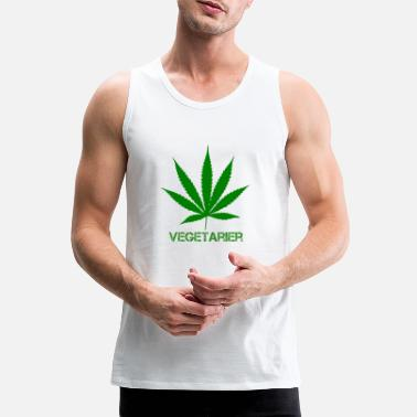 cannabis - Men's Premium Tank Top