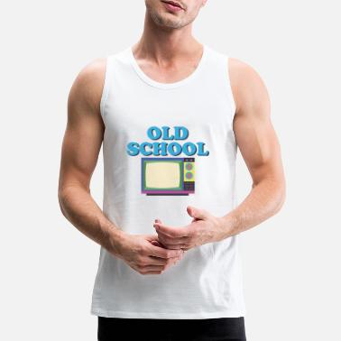 Television Old school television gift - Men's Premium Tank Top