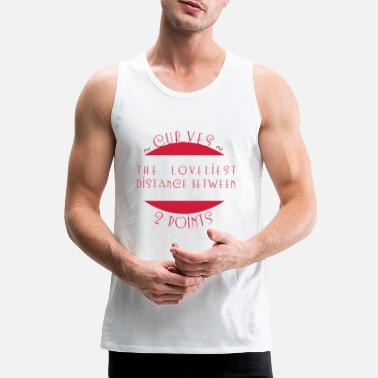 Curves Curves - Men's Premium Tank Top