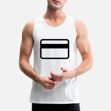 Cards credit card - Mannen premium tank top