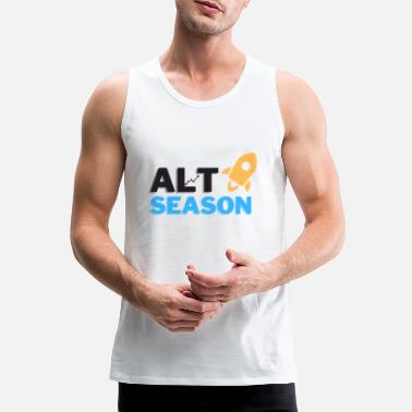 Alt Coin Season Shirt Bitcoin Ethereum - Mannen premium tank top