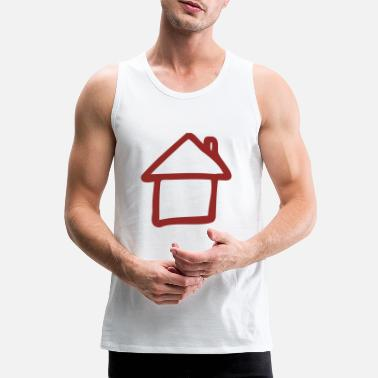 House House - - Premium tanktop mænd