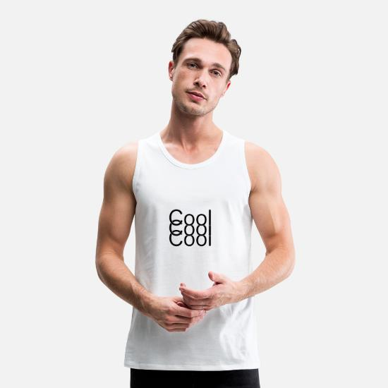 Cool Story Bro Tell It Again Tank Tops - Cool triple black - Men's Premium Tank Top white