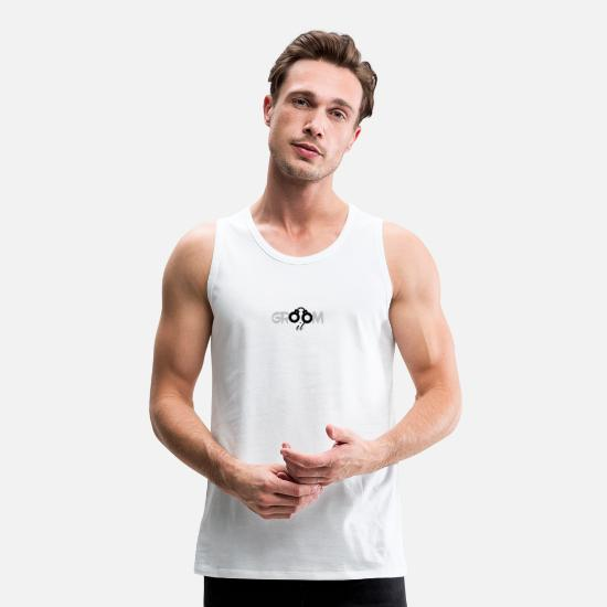 Groom Tank Tops - Groom it - Men's Premium Tank Top white