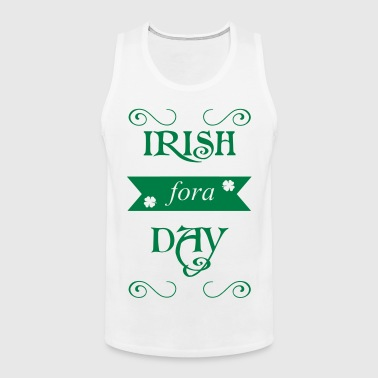 irish fora day - Mannen Premium tank top