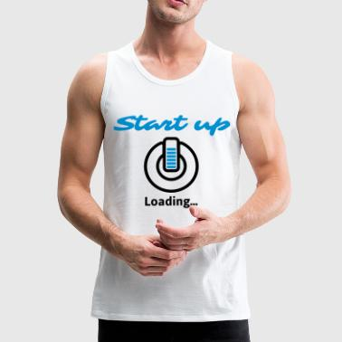 Start up Loading ... - Men's Premium Tank Top