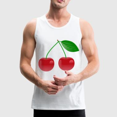 cherry - Men's Premium Tank Top