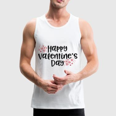 Happy Valentines - Men's Premium Tank Top