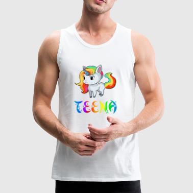 Unicorn Teena - Premium singlet for menn