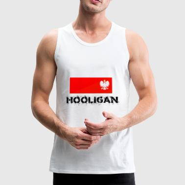 Polish hooligan - Men's Premium Tank Top