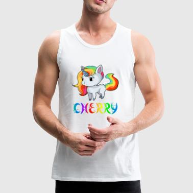 Unicorn Cherry - Men's Premium Tank Top