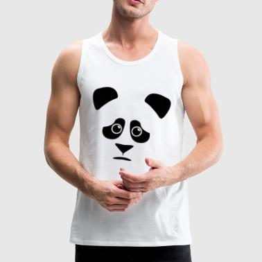 sad panda - Men's Premium Tank Top