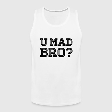 Like a cool you mad geek story bro typography - Premium singlet for menn