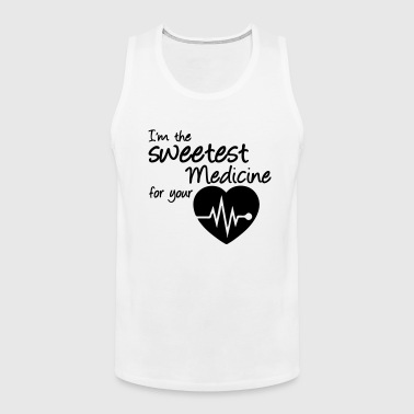 Sweetest Medicine - Men's Premium Tank Top