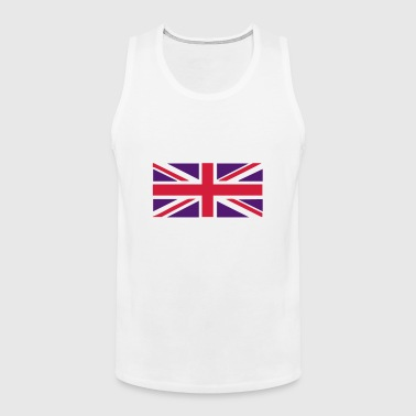 Union Jack - Great Britain - Union flag, versatile 2 colour vector - Men's Premium Tank Top