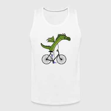 sporty dragon - Men's Premium Tank Top