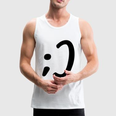 Smiley Wink - Männer Premium Tank Top