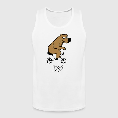 sporty bear - Men's Premium Tank Top