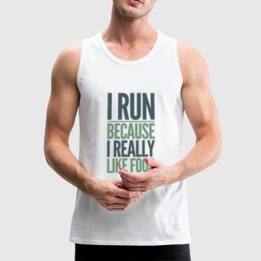 running - Men's Premium Tank Top