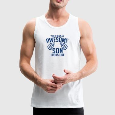 Son and Daughter Day - Men's Premium Tank Top