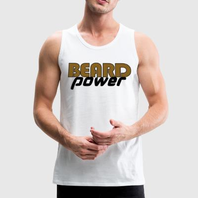 beardpower - Mannen Premium tank top