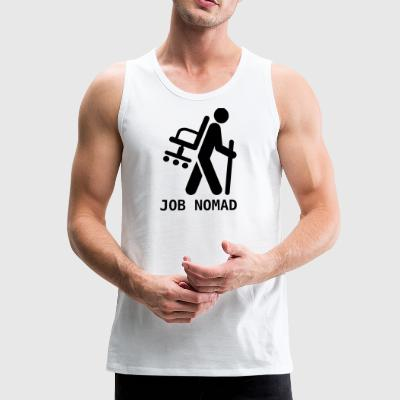 job nomad - Men's Premium Tank Top