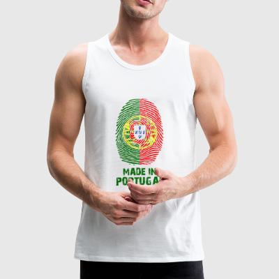 Portugal Flagge - Made in Portugal - Geschenk - Männer Premium Tank Top
