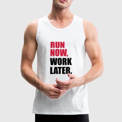 run - Premium singlet for menn