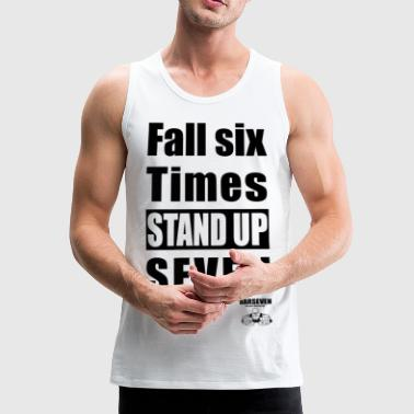 BarSeven - Stand up - Men's Premium Tank Top