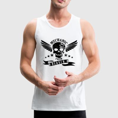 Mechanic From Heaven - Mannen Premium tank top