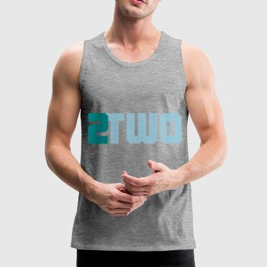 two two doubles - Men's Premium Tank Top