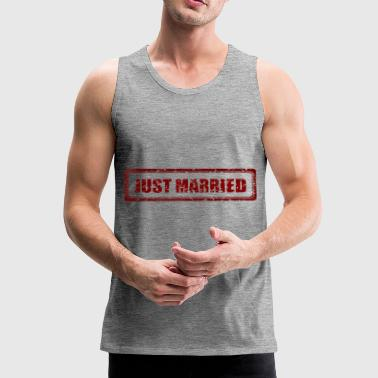 Just Married Married Married Married - Men's Premium Tank Top