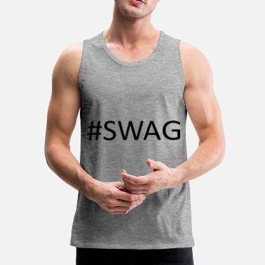 Swagg #SWAG - Débardeur Premium Homme