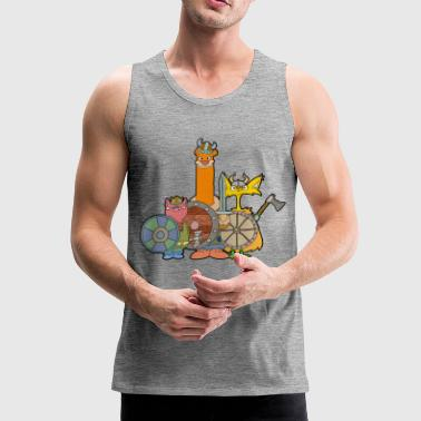 Vikings - Men's Premium Tank Top