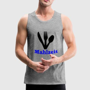 Knife, fork and spoon - meal - Men's Premium Tank Top