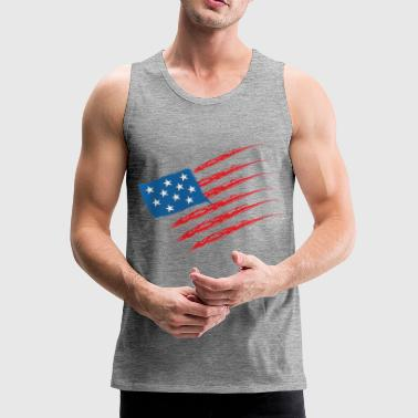 USA - Premium singlet for menn