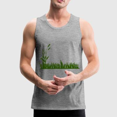 Grass - Men's Premium Tank Top