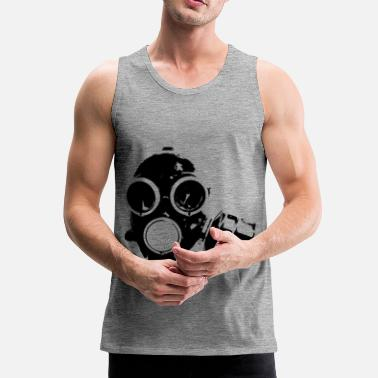 Gas Mask gas-mask - Men's Premium Tank Top